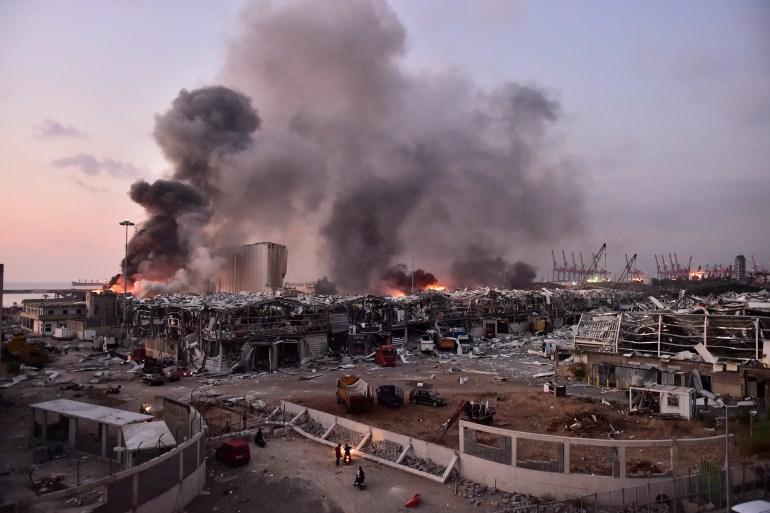انفجار بيروت.. عشرات القتلى وآلاف الجرحى وتوصيات بتسلم الجيش مهام ...