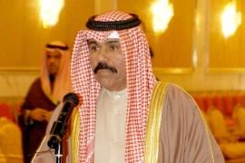 الشيخ نواف الأحمد نُصّب وليا للعهد في 7 فبراير/شباط 2006 (الجزيرة)