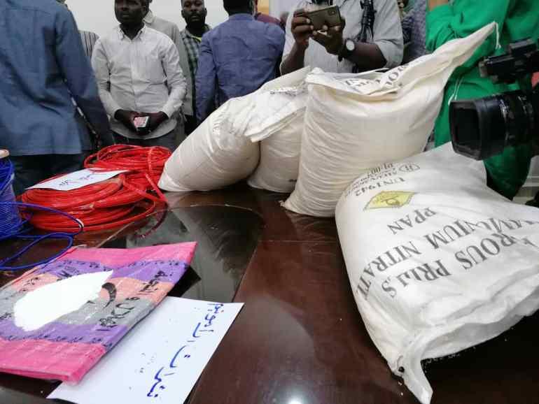 إرهاب أم تعدين؟ السلطات السودانية تضبط كمية متفجرات ضخمة تكفي لنسف الخرطوم