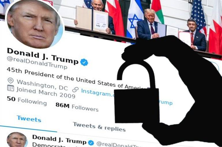 Die von den Hackern angekündigte Überraschung ist das Passwort, das Trump auf seinem Twitter-Account (Al Jazeera) verwendet hat.