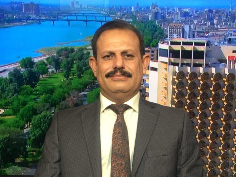 استاذ الاقتصاد في الجامعة العراقية - عبد الرحمن المشهداني