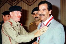 في مثل هذا اليوم 30/12/2006 الخامسة فجراً بتوقيت بغداد تم أعدام القائد صدام حسين 2-67