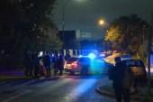 الشرطة رصدت الجاني وهو يحمل سكينا على بعد مسافة قصيرة من موقع الهجوم (الجزيرة)