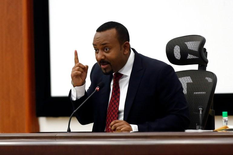 آبي أحمد: مشروع سد النهضة بات في مراحله الأخيرة (الأناضول)