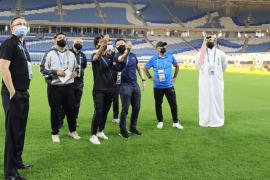 توقع الوفد نجاح قطر في تنظيم هذه البطولة؛ بسبب جاهزيتها الكبيرة (مواقع التواصل)