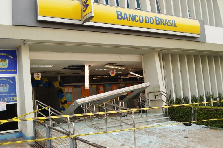 """أكثر من 20 شخصا مدججين بالأسلحة اقتحموا فرعا لمصرف """"بنكو دو برازيل"""" الحكومي (الفرنسية)"""