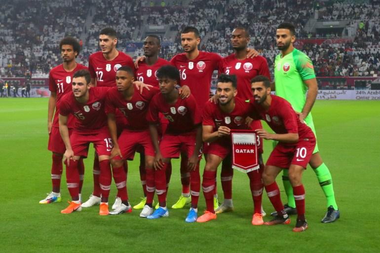 مشاركة المنتخب القطري تأتي ضمن استعداداته لمونديال 2022 (وكالة الأناضول)
