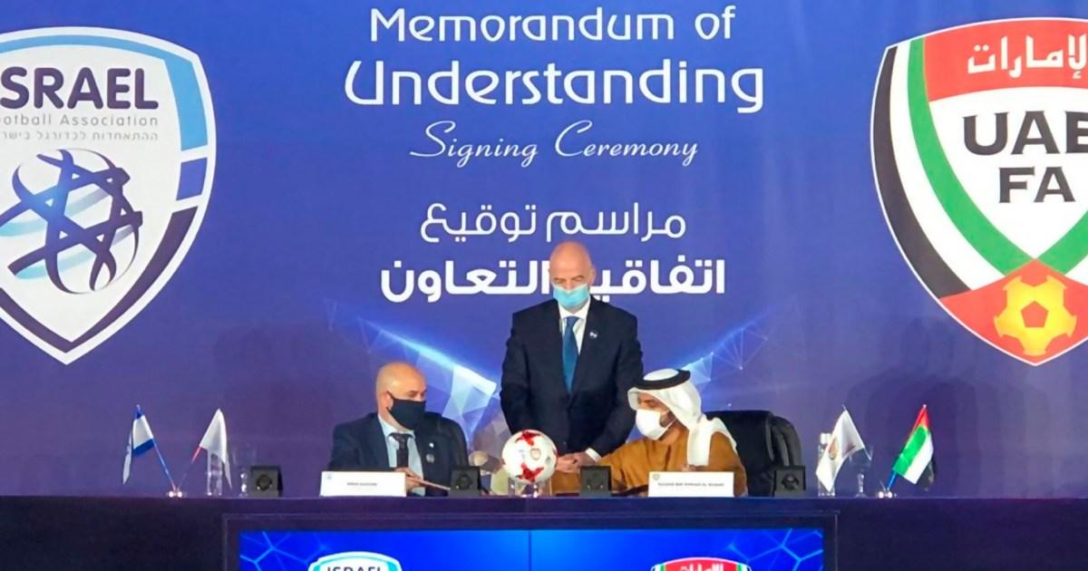 هل تنظم إسرائيل كأس العالم بالمشاركة مع دول عربية في مقدمتها الإمارات؟