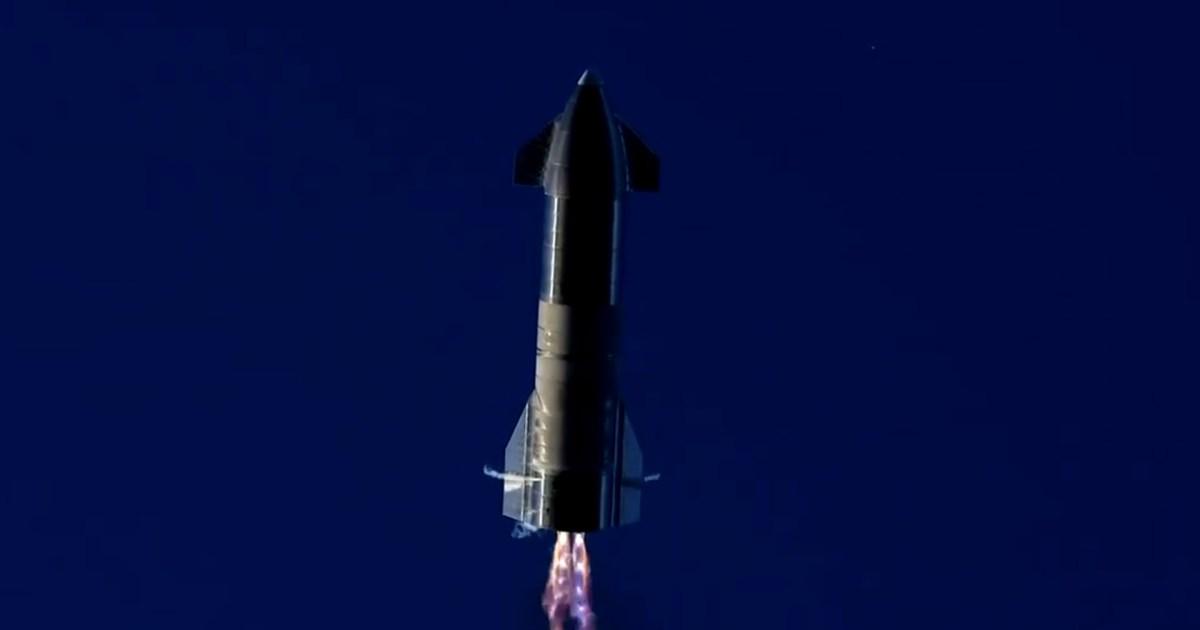 """شاهد.. انفجار صاروخ تابع لـ""""سبيس إكس"""" بعد دقائق من تجربة الإطلاق"""