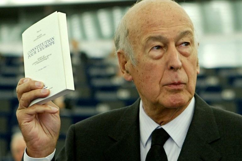 وفاة الرئيس الفرنسي الاسبق فالري جيسكار دستينه