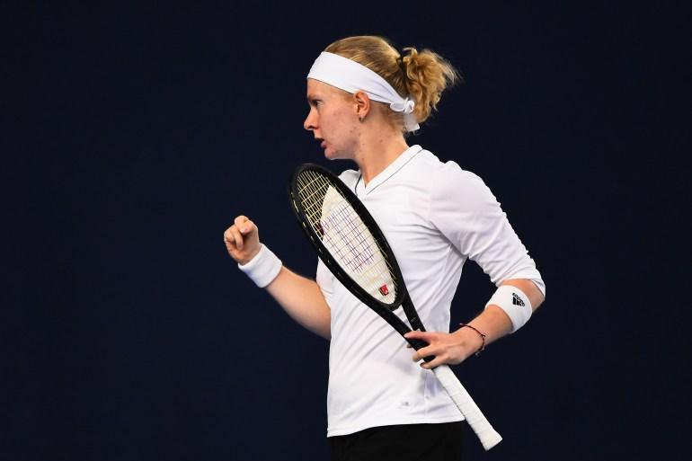 الأطباء أبلغو جونز أنها لن تكون قادرة على ممارسة التنس على الصعيد الاحترافي (غيتي)