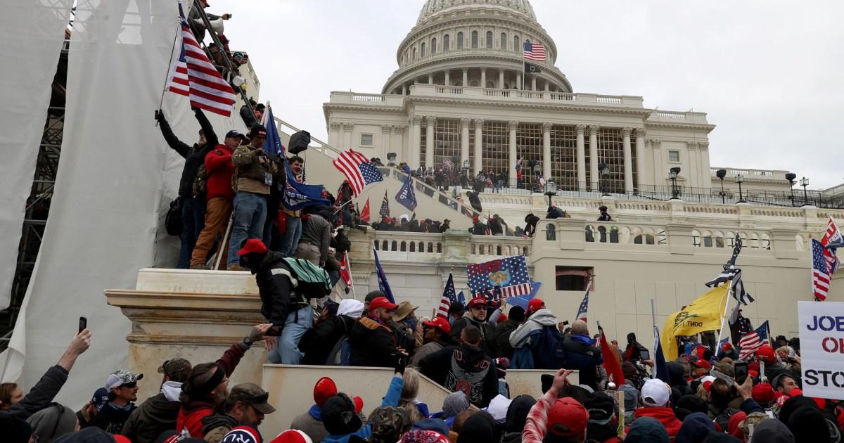 اقتحام الكونغرس الأميركي لحظة بلحظة
