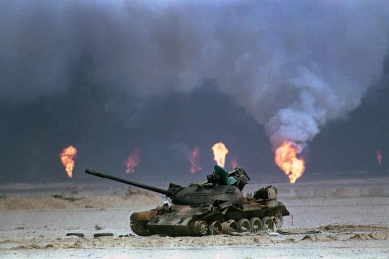 التحالف استخدم أكثر من 60 ألف طن من القنابل في حربه على العراق عام 1991 (أسوشيتد برس)