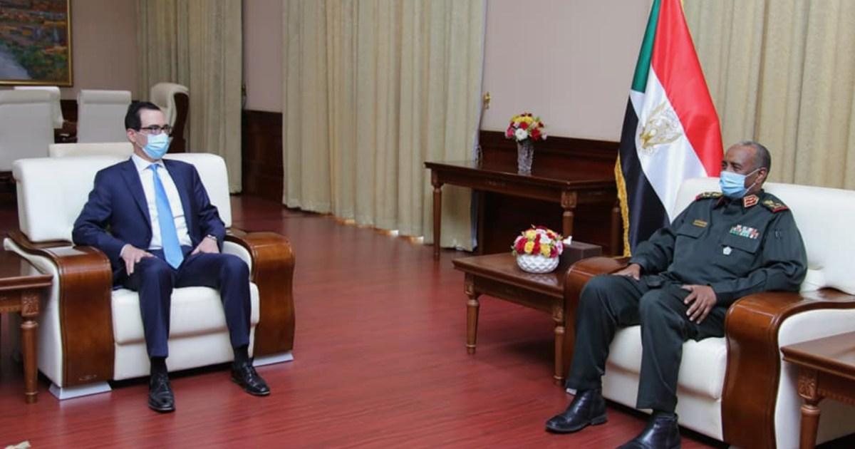 السودان.. مذكرة تفاهم مع الخزانة الأميركية لسداد متأخرات البلاد للبنك الدولي