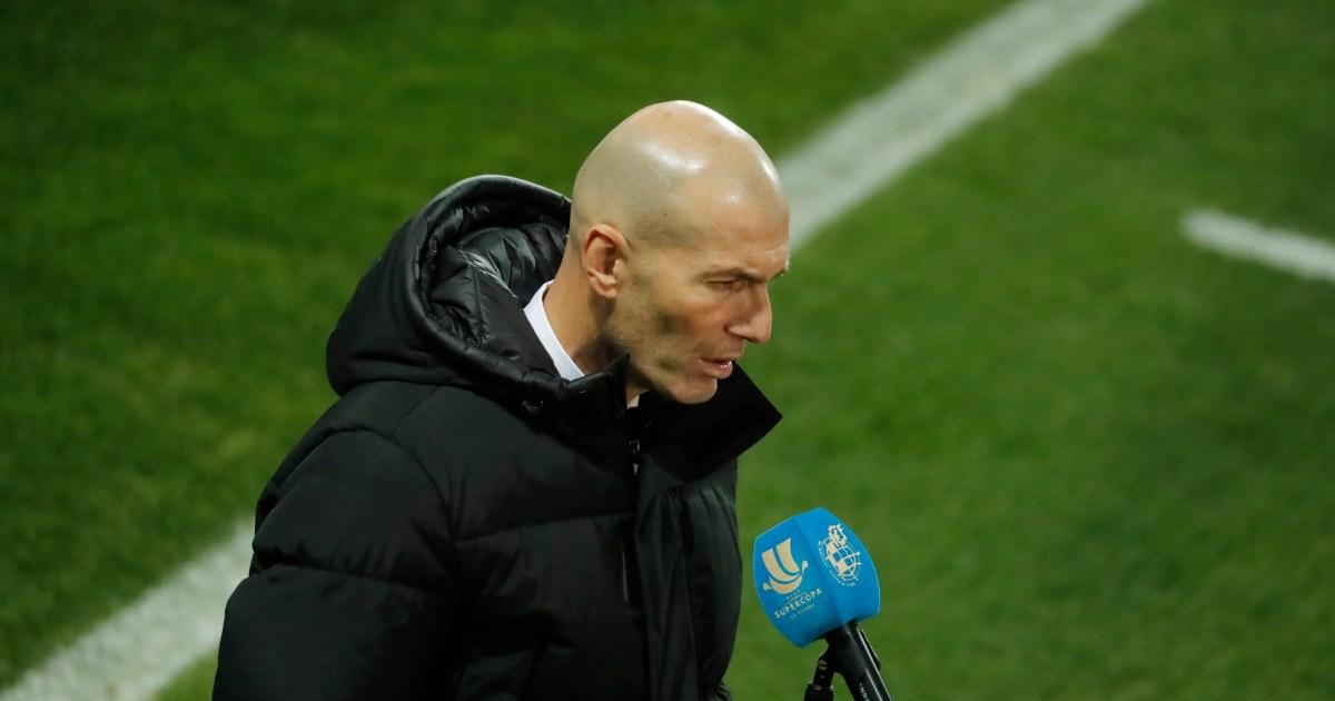 زيدان: خروج ريال مدريد المفاجئ من الكأس أمام فريق درجة ثالثة ليس مخجلا