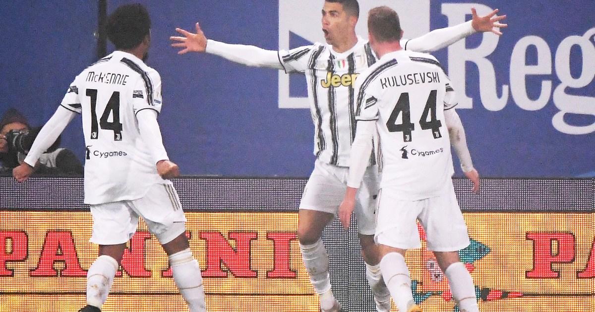 يوفنتوس يتوج بكأس السوبر الإيطالي ورونالدو أفضل هداف في التاريخ