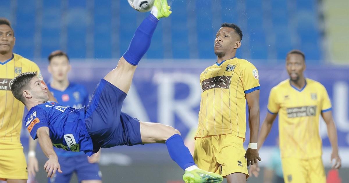على طريقة رونالدو.. شاهد هدف فيتو الرائع في الدوري السعودي