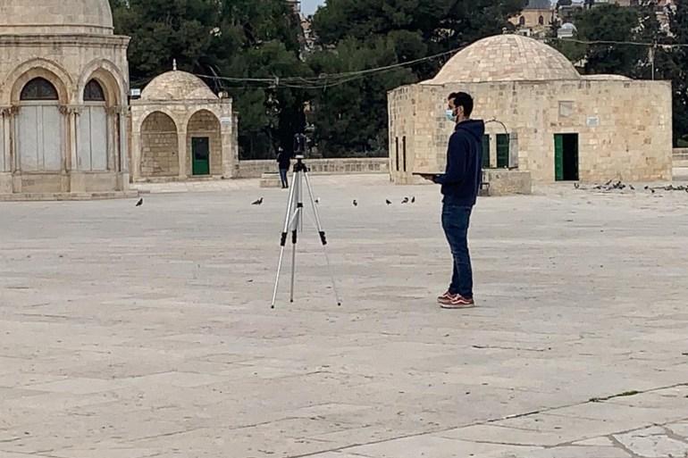 في انتهاك جديد بالأقصى.. تصوير الساحات كافة بتقنية متطورة بحماية قوات الاحتلال