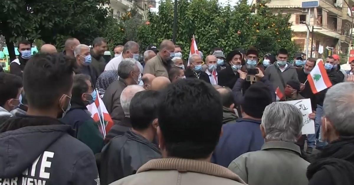 للأسبوع الثاني.. تجدد الاحتجاجات في لبنان بسبب الإغلاق العام وتردي الوضع المعيشي