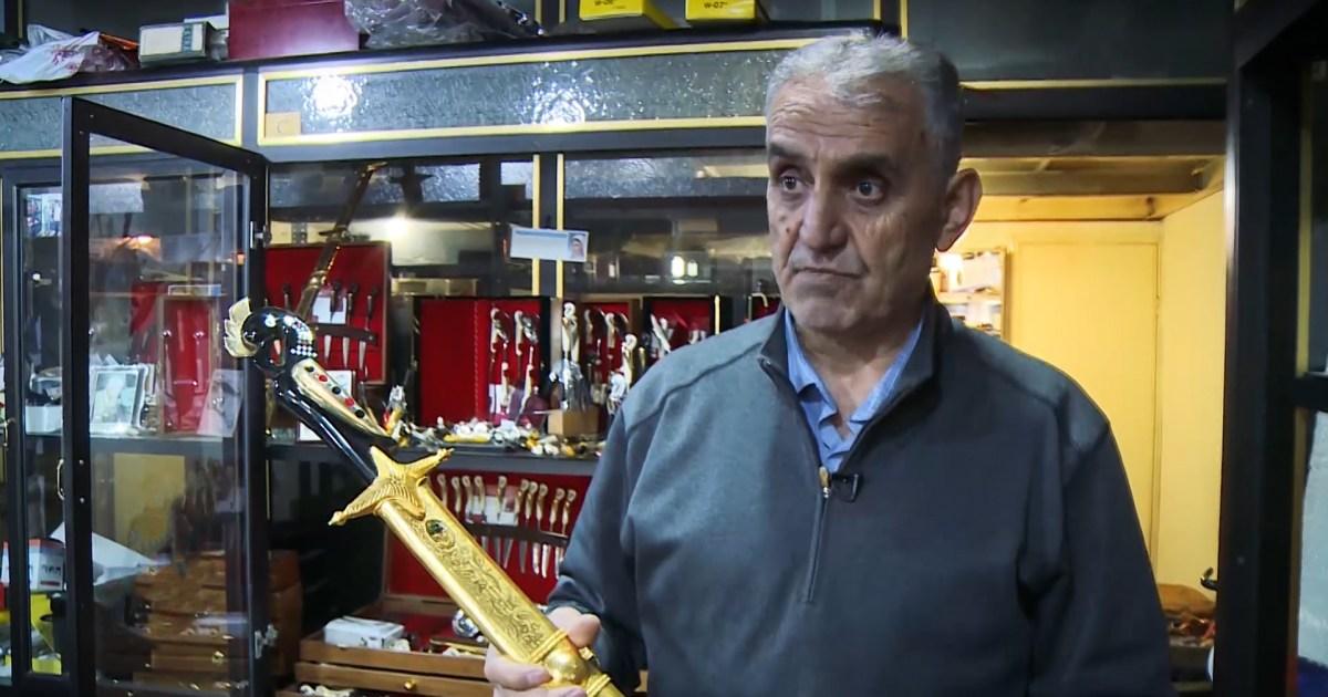صناعة السكاكين والسيوف التقليدية في لبنان