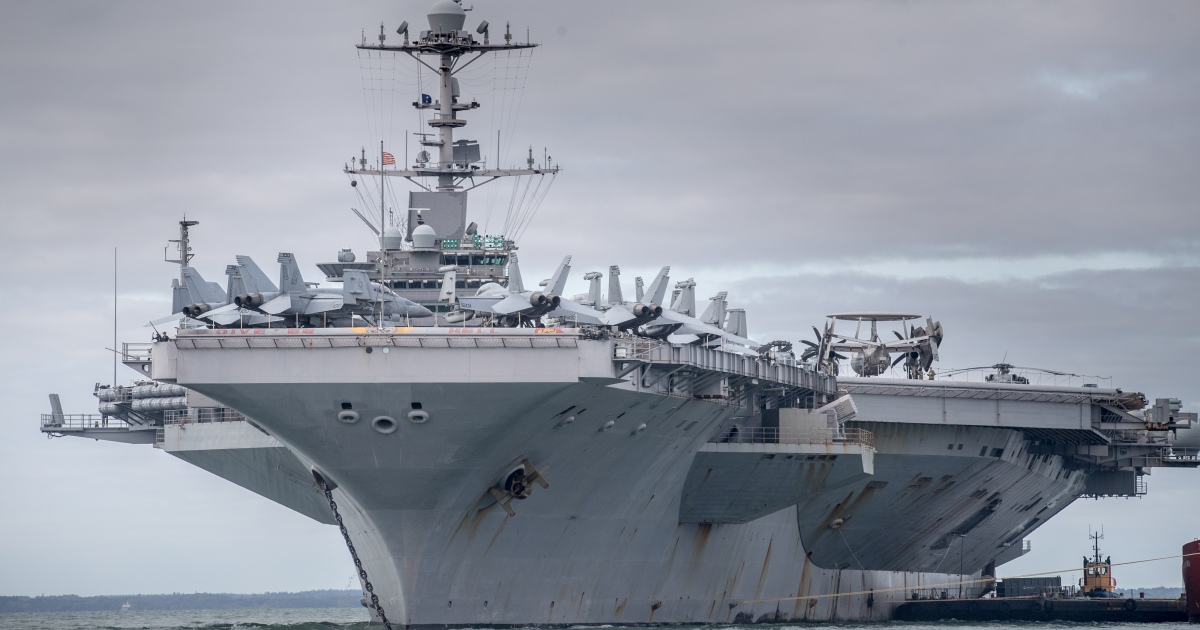واشنطن: تفشي كورونا على متن سفينتين حربيتين في الشرق الأوسط