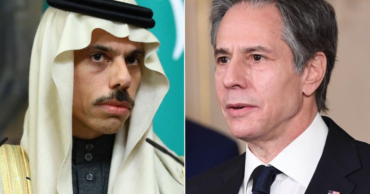 وزير الخارجية الأميركي: السعودية شريك أمني مهم وسنواصل الدفاع عنها ضد أي تهديد