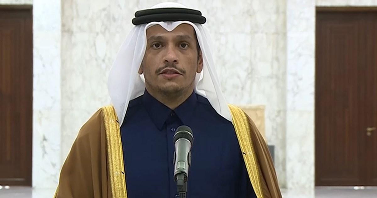 وزير خارجية قطر يؤكد دعم أي مسار لتشكيل الحكومة اللبنانية ويحث كل الأطراف على تغليب المصلحة الوطنية