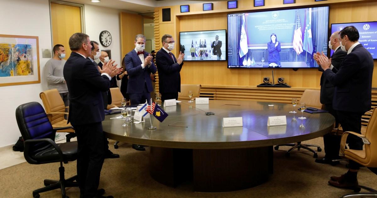 في حفل افتراضي.. إسرائيل وكوسوفو تدشنان العلاقات الدبلوماسية بينهما