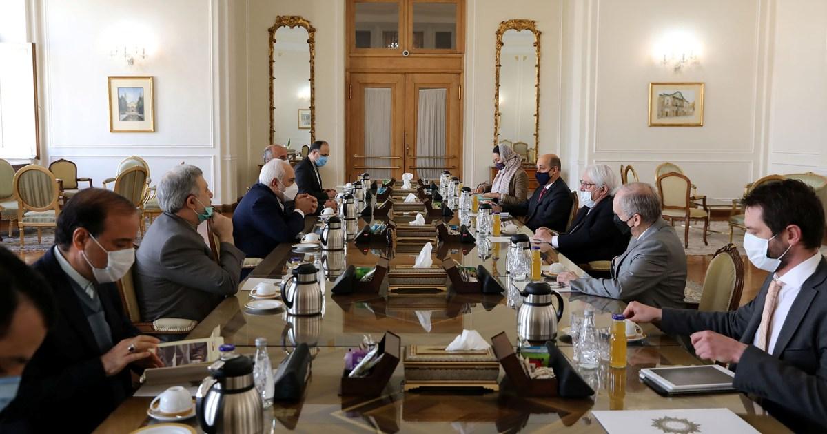 المبعوث الأممي يبحث في إيران وقف الحرب في اليمن