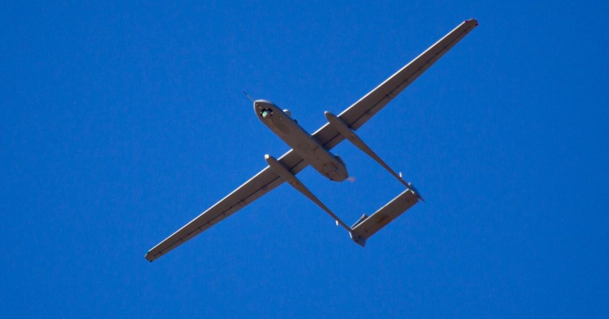 أنباء عن استهدافها بصاروخ من حزب الله.. إطلاق النار على طائرة مسيرة إسرائيلية فوق لبنان