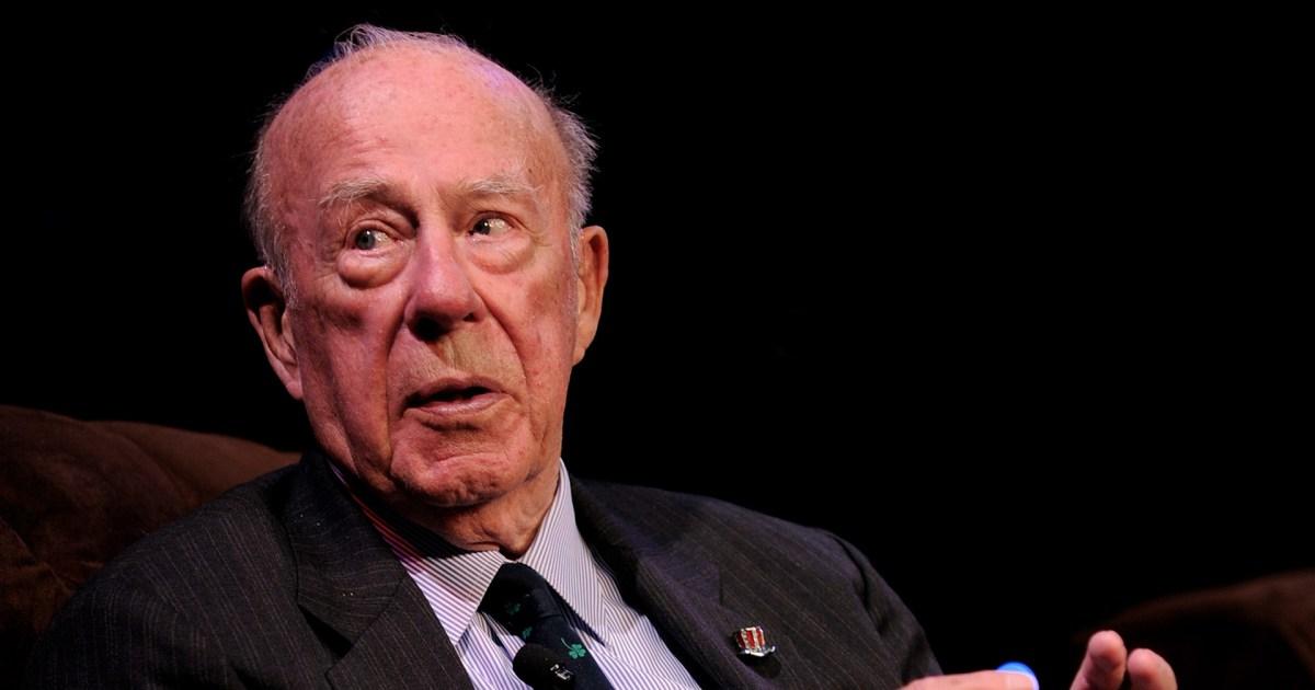 وفاة وزير الخارجية الأميركي الأسبق جورج شولتز