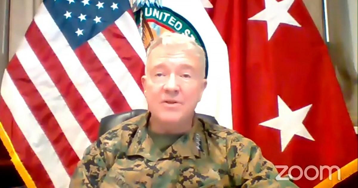 قائد القيادة الوسطى الأميركية يؤكد التنسيق مع الحلفاء بشأن إيران