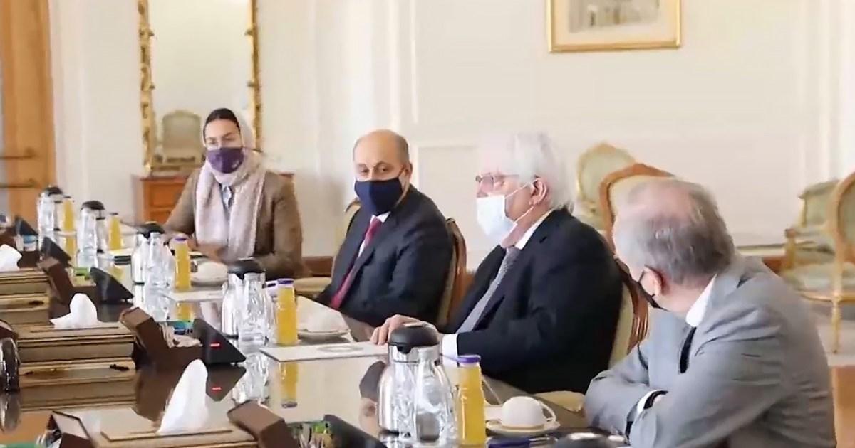 مباحثات للمبعوث الأممي إلى اليمن في إيران.. واشنطن: سنواصل الضغط على قيادة الحوثيين