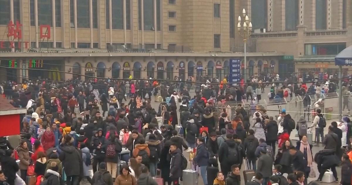 شاهد: الصينيون يحتفلون بعيد الربيع بأساليب جديدة بسبب كورونا