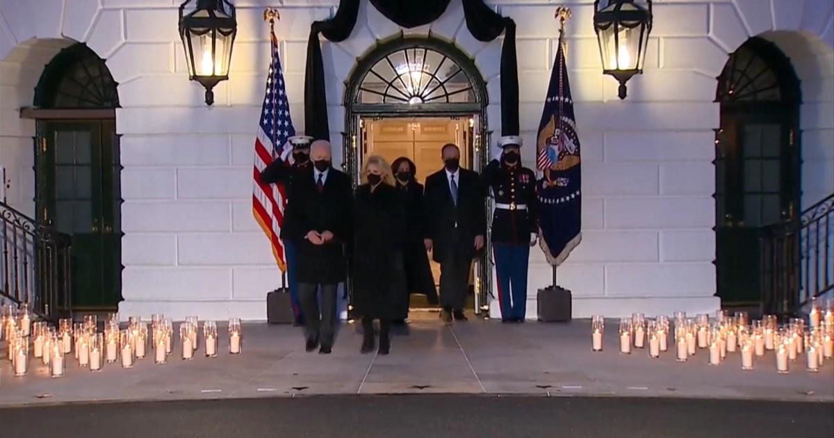 مراسم تأبين في البيت الأبيض لضحايا فيروس كورونا