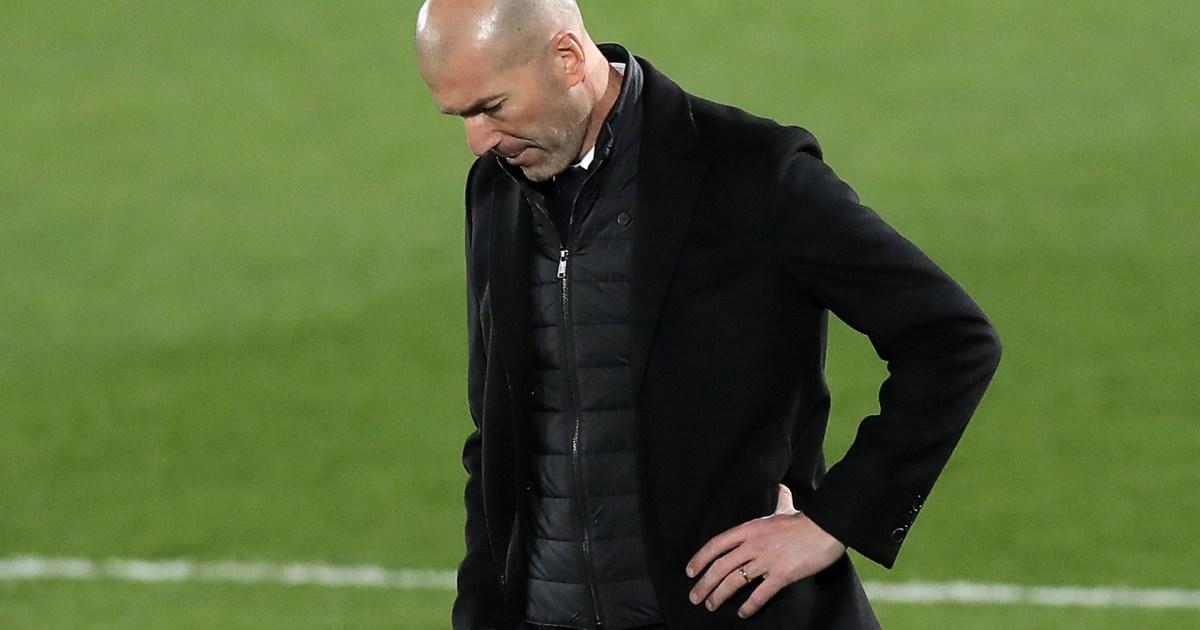 ماركا: زيدان أبلغ لاعبي ريال مدريد برحيله وترشيح 3 مدربين لخلافته