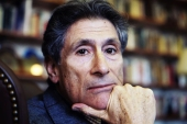 Edward Said, pictured in 2003, in his office at Columbia University, New York City © Getty (Getty)