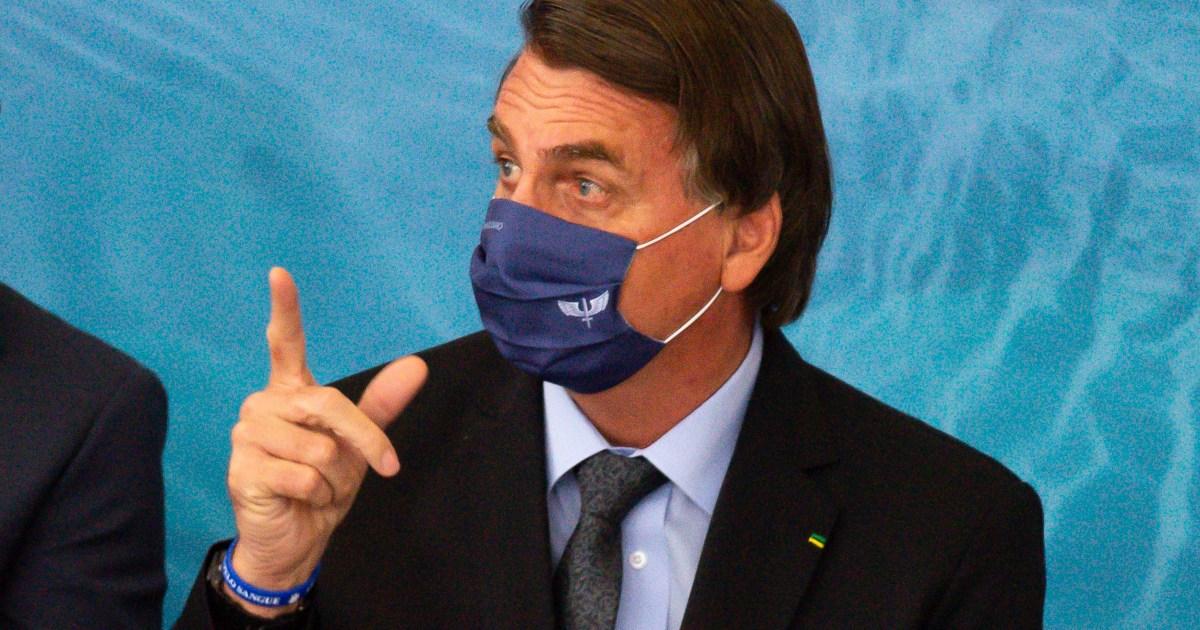 """رئيس البرازيل يلمح إلى أن الصين """"صنعت"""" فيروس كورونا لشن حرب كيميائية"""