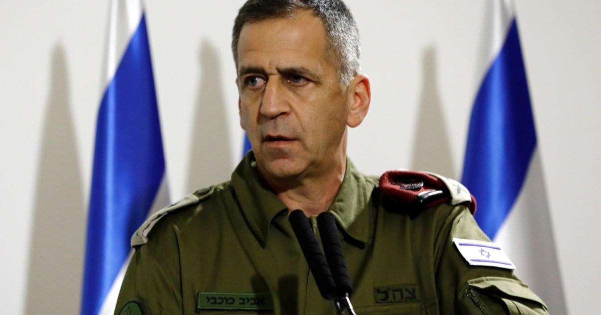 الملف النووي.. قائد الجيش الإسرائيلي لا يعارض اتفاقا جديدا مع إيران يمنعها من تصنيع قنبلة نووية
