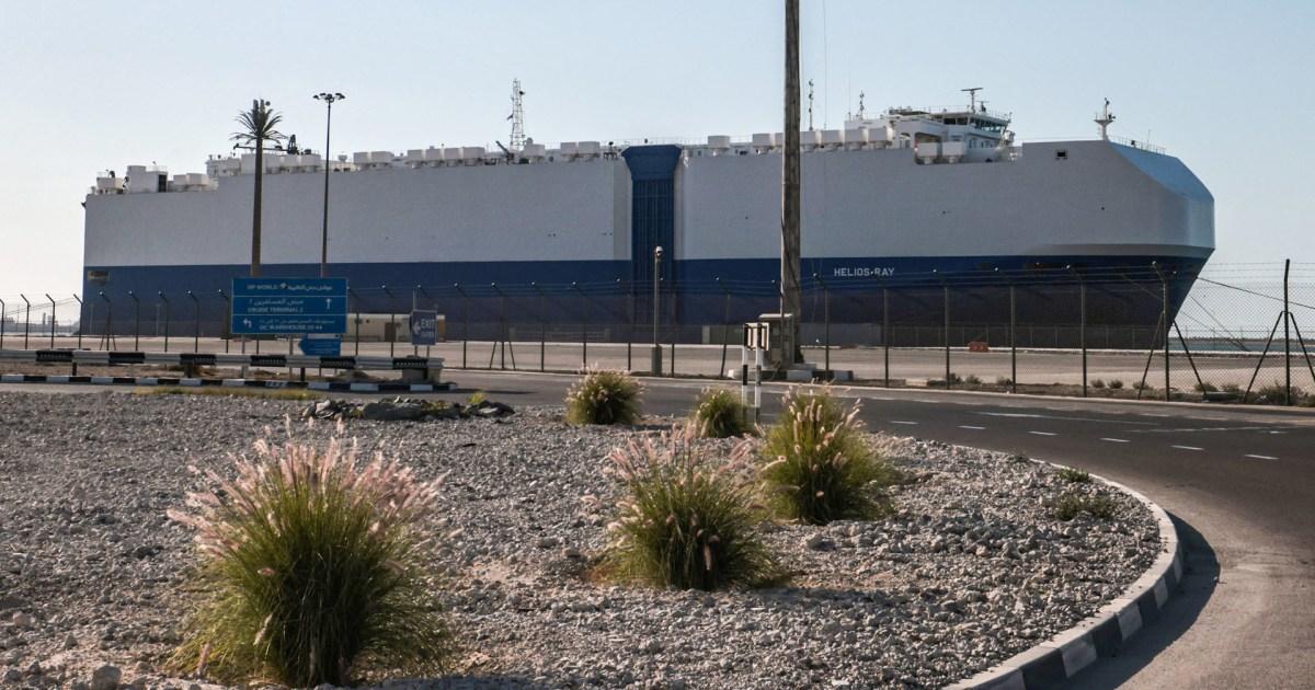 اتهامات متبادلة بين إسرائيل وإيران بعد حادثة السفينة الإسرائيلية