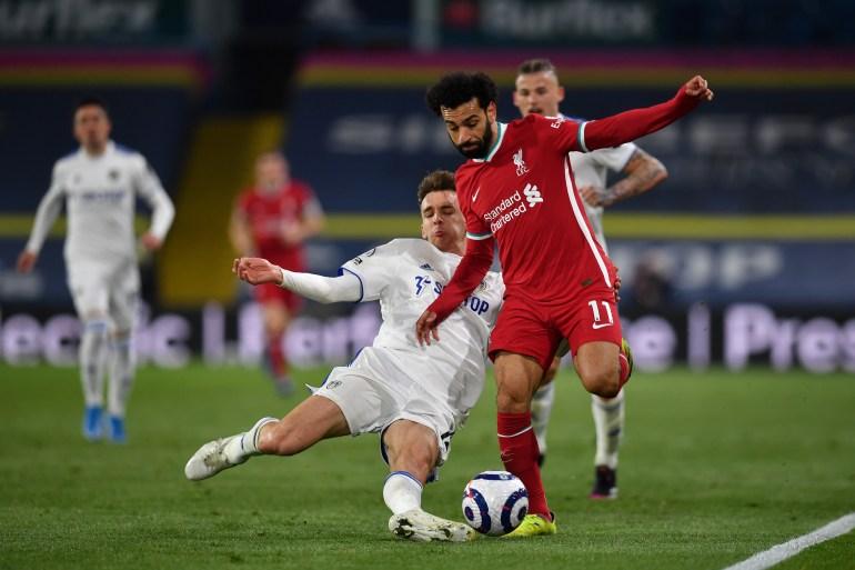 ليدز يحرم ليفربول من الوصول إلى المركز الرابع بالدوري الإنجليزي