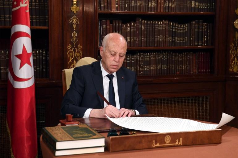تونس، المحكمة الدستورية، الرئيس التونسي قيس سعيد، الغنوشي،  الدستور التونسي، حربوشة نيوز