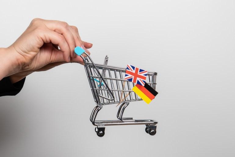 صادرات ألمانيا إلى المملكة المتحدة انخفظت بأكثر من 12% في فبراير/شباط الماضي (غيتي)