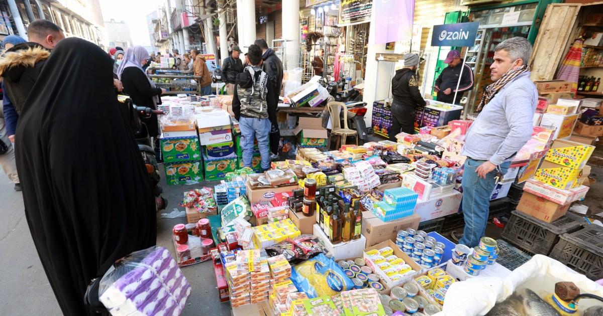العراق.. ارتباك في الأسواق منذ تخفيض سعر صرف الدينار مقابل الدولار