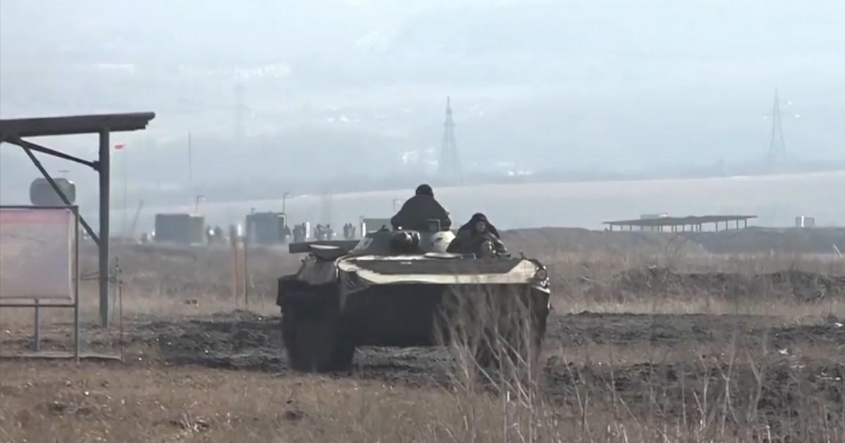 أوكرانيا تعلن مقتل جندي بنيران الانفصاليين وموسكو تعرب عن قلقها من لجوء السلطة للقوة