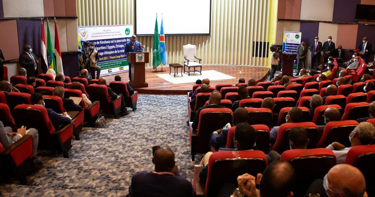 استئناف مفاوضات كينشاسا بشأن سد النهضة بين وفود السودان ومصر وإثيوبيا