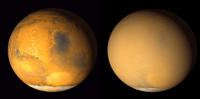 أغرب ظواهر الفضاء الخارجي .. من المطر الحديدي إلى برق العفاريت و الجن بحيرات الميثان على تيتان الرياح على المريخ