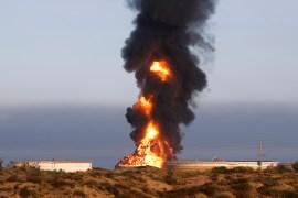 صواريخ المقاومة استهدفت منشأة نفطية في عسقلان (الفرنسية)