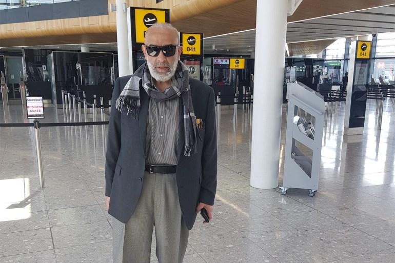 أشرف السعد عاد إلى مصر بعد غياب استمر ربع قرن (مواقع التواصل)
