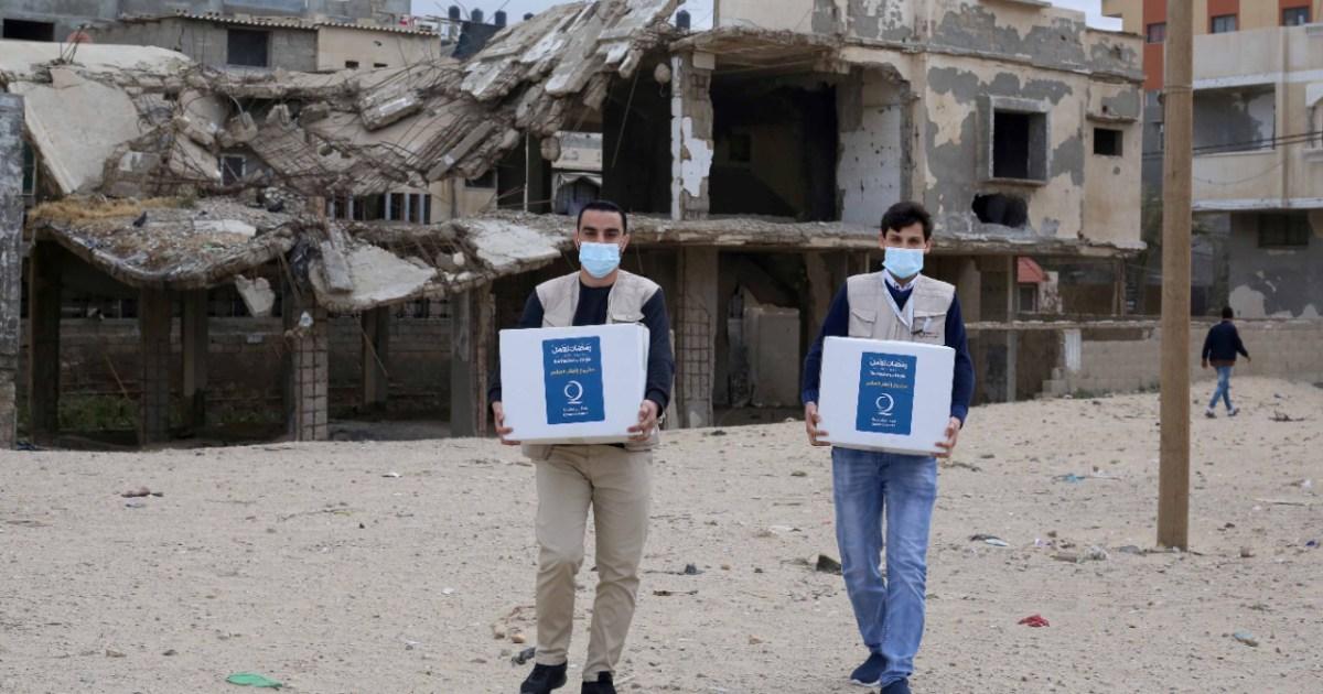 بمساعدات تتخطى 6 ملايين دولار.. فزعة قطرية لإغاثة الشعب الفلسطيني